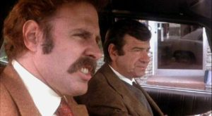 Bruce Dern and Walter Matthau in The Laughing Policeman