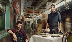 David Schwimmer and Jim Sturgess star in Feed the Beast.