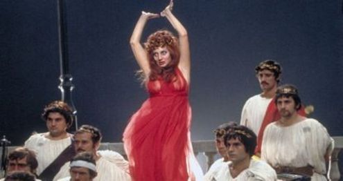 Fellini's 1972 kaleidoscopic valentine to the Eternal City receives the Criterion treatment next week!