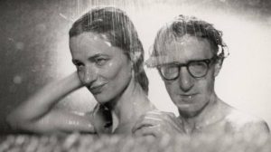 Woody Allen cools down with Charlotte Rampling in Stardust Memories.