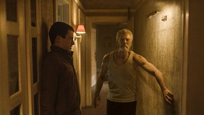 The critically acclaimed thriller starring Stephen Lang as a terrifying blind veteran is now available on disc and digital!
