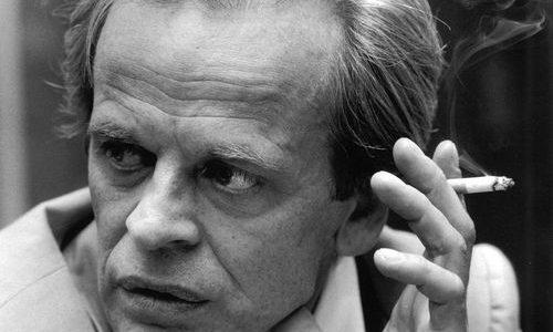 Born Klaus Günter Karl Nakszynski, it's Kinski. Klause friggin' Kinski.