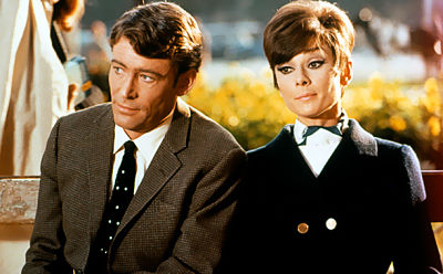 Audrey Hepburn and Peter O'Toole star in the 1966 comedy crime caper, now out on Blu-ray!