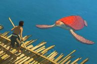 Striking, gentle animated fantasy about the encounters of a shipwrecked man.