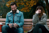 Sudeikis and Hathaway star in original horror/sci-fi/rom-com mashup.