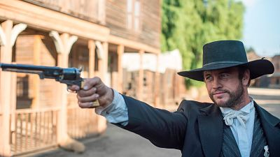 Luke Hemsworth stars in the story of the West's most notorious gunslinger! Now available!
