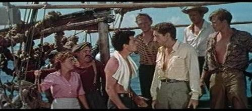 The 1953 adventure film, one of the earliest CinemaScope pictures, is now available on Blu-ray!