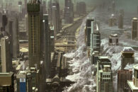 Blah global disaster flick is enlivened by 4DX theatrical exhibition!