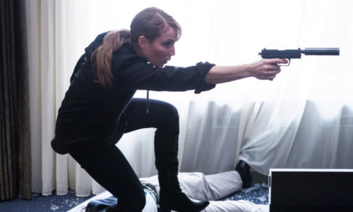 Noomi Rapace stars in the espionage thriller, now available!