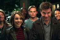 Adults play games in this darkly comic chase comedy w/ Jason Bateman and Rachel McAdams.