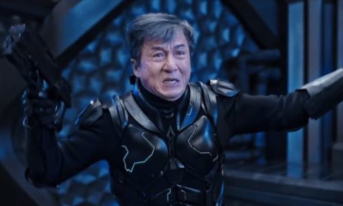 The irrepressible Jackie Chan (The Spy Next Door) is back in his latest, the action-filed techno-drama  Bleeding Steel.