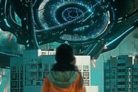 Large-scale Russian sci-fi alien ship flick delivers on the visuals.