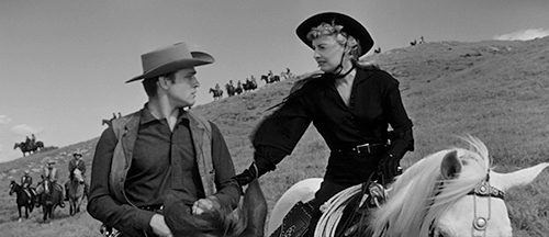 Barbara Stanwyck saddles up with writer-director Samuel Fuller for the 1957 Western, now available!