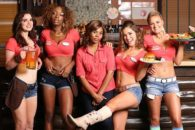 Regina Hall leads winning indie comedy about sports bar and its curvy staffers.