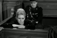 Bardot acts up a storm in Clouzot's 1960 courtroom drama.