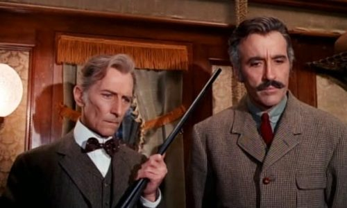 Peter Cushing and Christopher Lee star in the nutty 1972 horror flick, a restored version of which is now available!