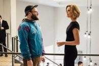 Rogen becomes speechwriter for former babysitter turned politico Theron in this comedy-romance.