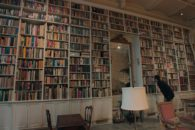 Loving look at the rarefied world of antiquarian-book buying and selling.