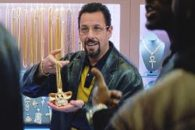 Sandler shines as a crazed NYC jeweler in the Safdie Brothers' equally crazed drama-thriller.