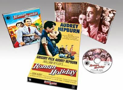 Audrey Hepburn and Gregory Peck star in the rom-com classic, back on Blu-ray from Paramount!