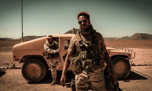 Gary Dourdan and Serinda Swanstar in the new action thriller, coming this week!