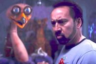 Nic Cage trapped in a kiddie emporium for a night of horror, action and laughs.