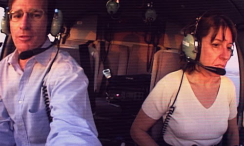 Fascinating doc about a young couple that revolutionized breaking news via helicopter reporting.
